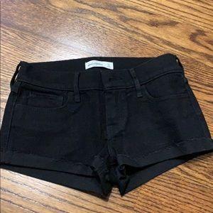 Abercrombie black shorts!